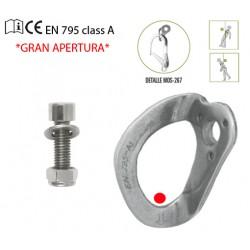 PUNTO ANCLAJE DE GRAN APERTURA PARA PERFIL METÁLICO 30 KN +PARABOL+BLISTER