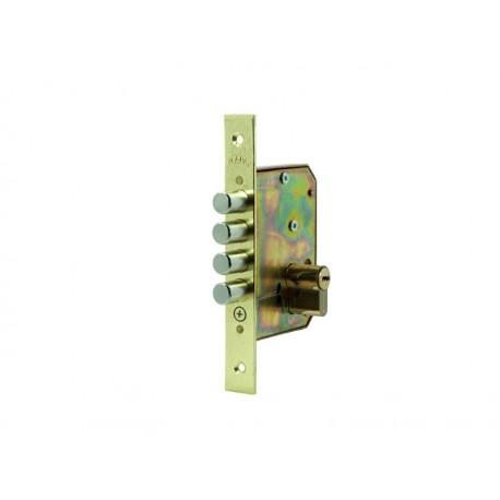 Cerradura embutir de seguridad para puerta madera 4225s consorcio de ferreteria - Cerradura de puerta de madera ...