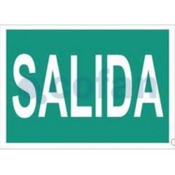 SEÑAL FOTOLUMINISCENTE SALIDA 297X210 MM