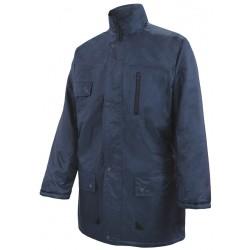Parka acolchada impermeable multibolsillos Azul Navy